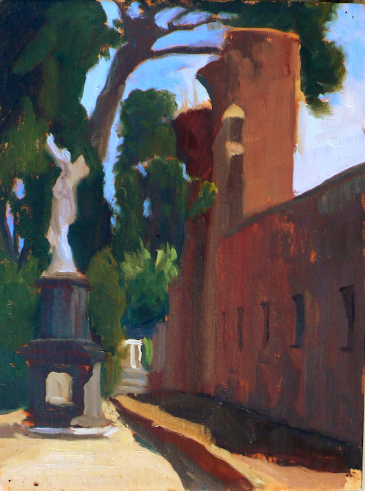 Kelly Medford Painting Blog: Quiet Moments & A Hidden Gem in Rome: Il Cimitero Acattolico