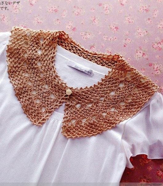 Patrón #841: Canesù a Crochet