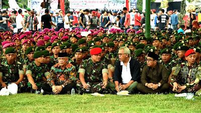 TNI Berdiri Tegak Di Atas Semua Golongan