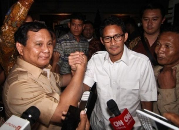 Prabowo-Sandi Dipastikan 99 Persen Akan Maju