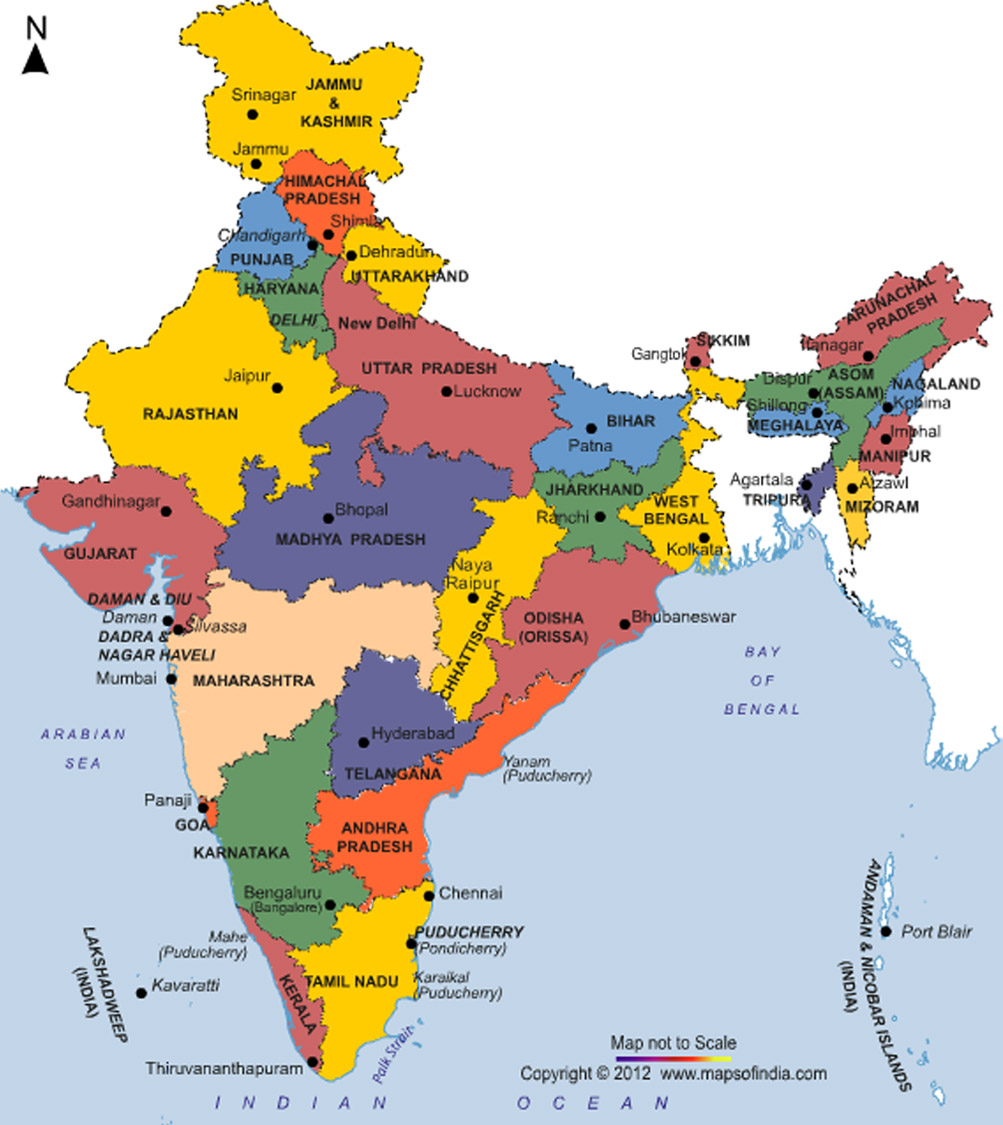 INDIA STATES AND THEIR CAPITALS PDF DOWNLOAD