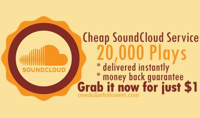20,000 SoundCloud Plays