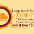 Buy 20000 SoundCloud Plays For $1