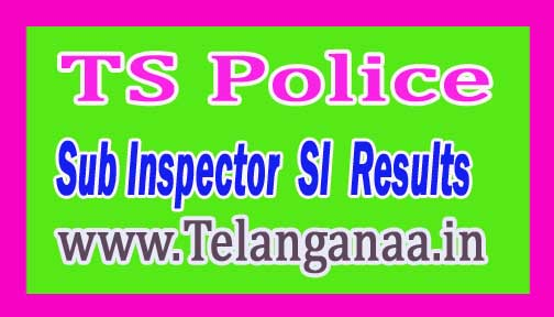 TS Police Sub Inspector (SI) FWE/Mains Results 2016