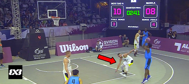 PHL's CJ Perez NASTY Handles Against UAE (VIDEO) 2016 FIBA 3x3 All Stars