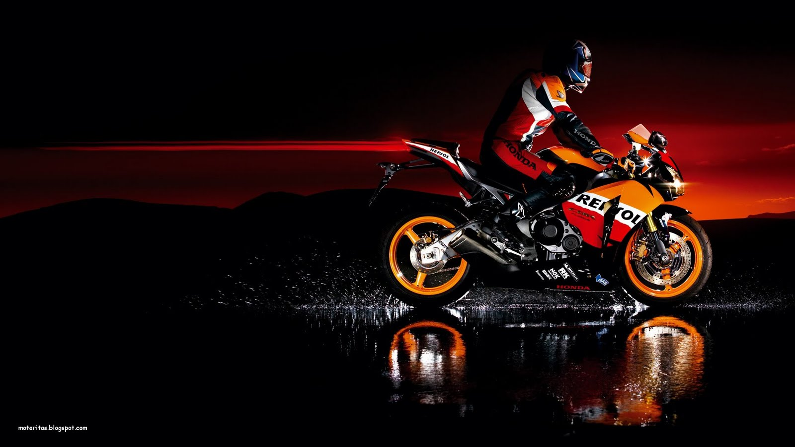 Honda Cbr Motorcycle 4k Hd Desktop Wallpaper For 4k Ultra: Motos Y Mujeres Resolución HD: Honda CBR1000RR Motorcycle