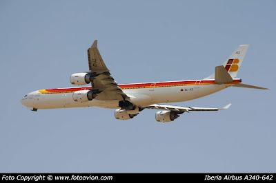 Airbus A340 Vicente Aleixandre