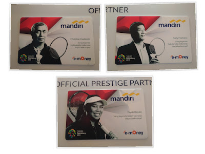 Kartu e-Money Mandiri edisi The Legend