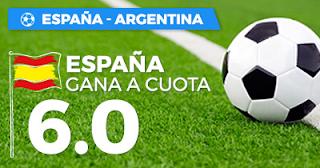 Paston Megacuota PASTÓN España vs Argentina 27 marzo