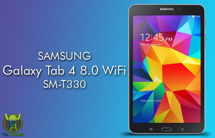 T330XXS1BPL1 | Galaxy Tab 4 8.0 WiFi SM-T330