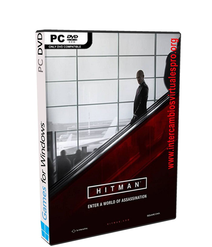 Hitman poster box cover