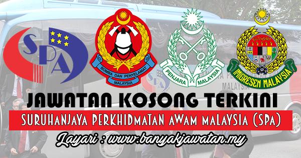 Jawatan Kosong 2017 di Suruhanjaya Perkhidmatan Awam Malaysia (SPA)