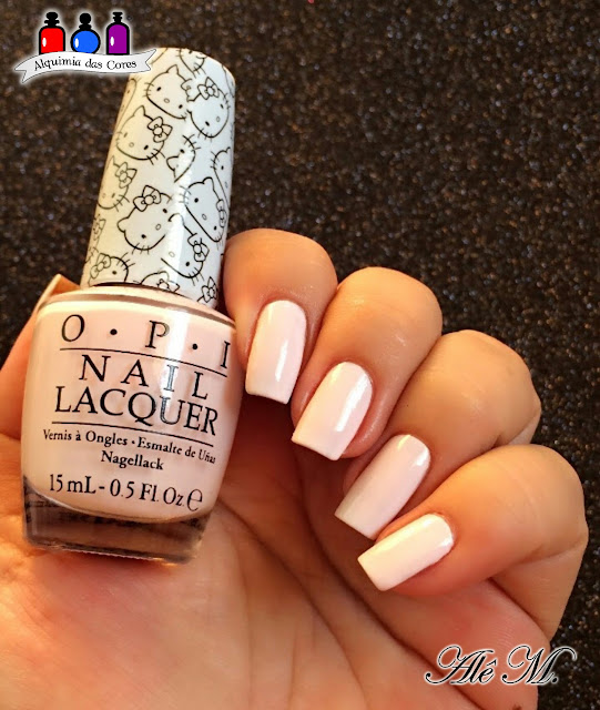 OPI, Hello Kitty, Let's Be Friends, Candy, Ale M, Rosa, Hello Kitty Collection, Cremoso