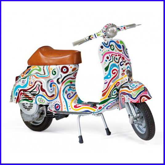 Magic Mac: Colours: Vespa