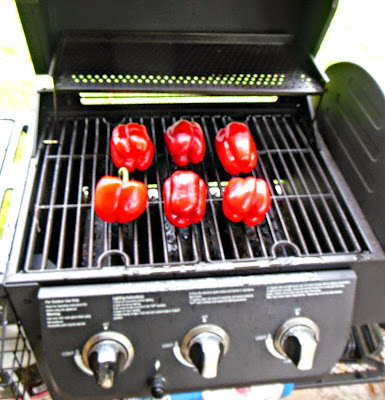 How to make Roasted Bell Peppers, for freezer storage for winter use.