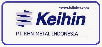 Info lowongan kerja PT. Keihin Indonesia Operator Produksi 2017