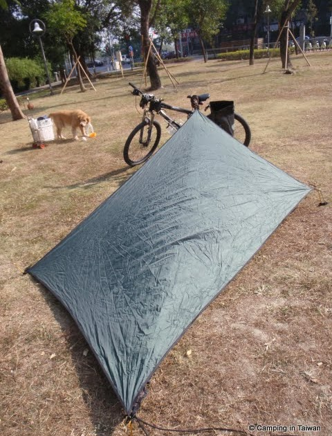 Outdoor Gadgets Using Hennessy Hammock as Bivy