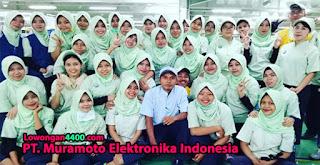 PT. Muramoto Elektronika Indonesia Kawasan EJIP Cikarang