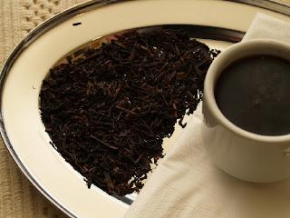 El té negro
