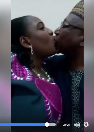 Wow Wow!!! Video of Abuja Big Man Secretly Romancing Girlfriend in the Office Surfaces Online