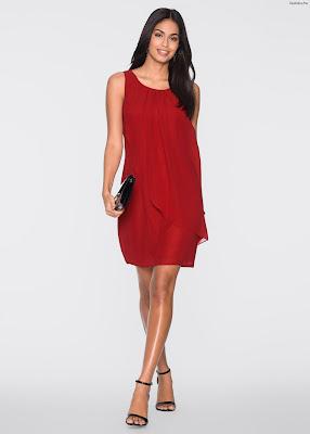 Vestidos rojos cortos para fiesta