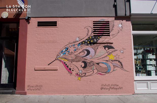 Murales en Nueva York Kelsey Montague 7