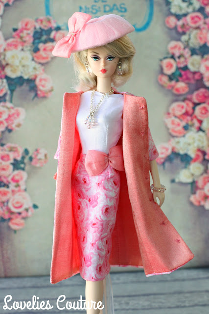ooak silkstone barbie couture fashion