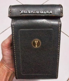 Case kulit asli TLR yashica 44 LM