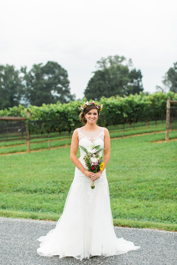 Ansley Garretts Cenita Vineyards Wedding By Hannah Woodard