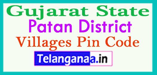 Patan District Pin Codes in Gujarat State