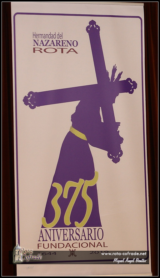 Programa de Actos de la Celebración del 375 Aniversario de la Hermandad del Nazareno de Rota