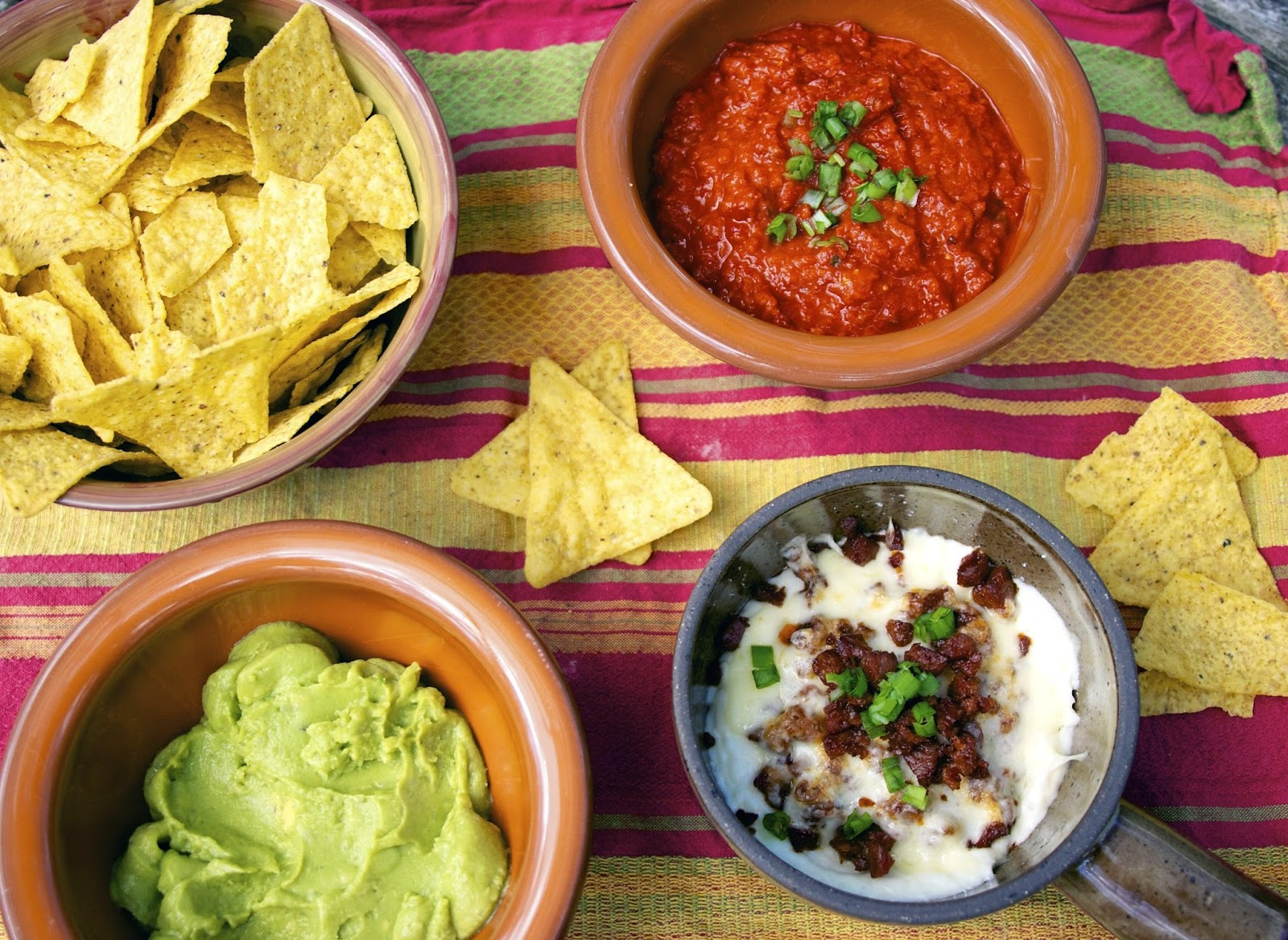 Chorizo and Cheese Dip_ Chips and Dips