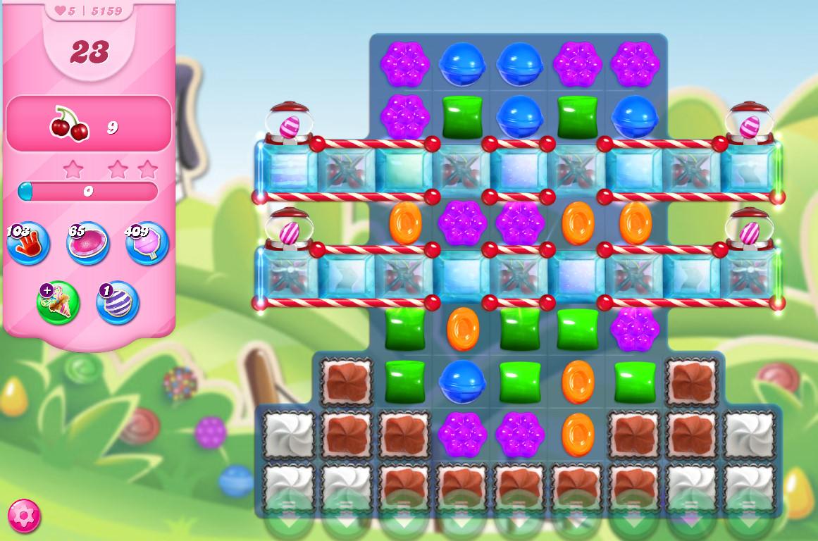 Candy Crush Saga level 5159