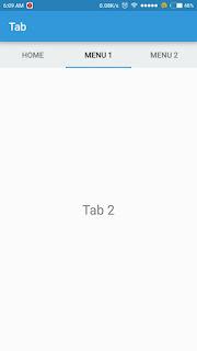 Cara membuat tabs di android studio