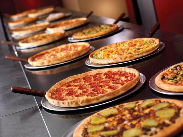 Pizzaria Cici's em Miami: pizzas