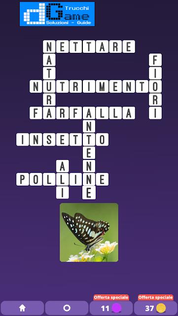 Soluzioni One Clue Crossword livello 9 schemi 8(Cruciverba illustrato)  | Parole e foto