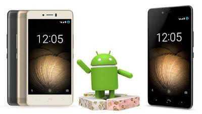 Android 7 Nougat en Smartphones