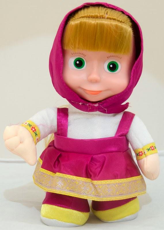 Gambar lucu boneka masha