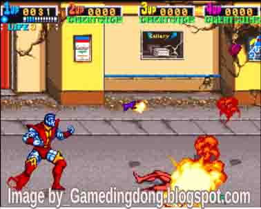 X-Men - Game Dingdong