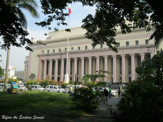 Manila Central Post Office as viewed from Liwasang Bonifacio.