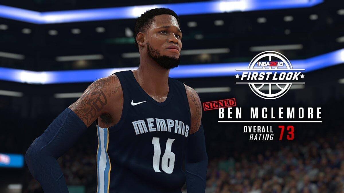 NBA 2K18 Screenshot - Ben McLemore