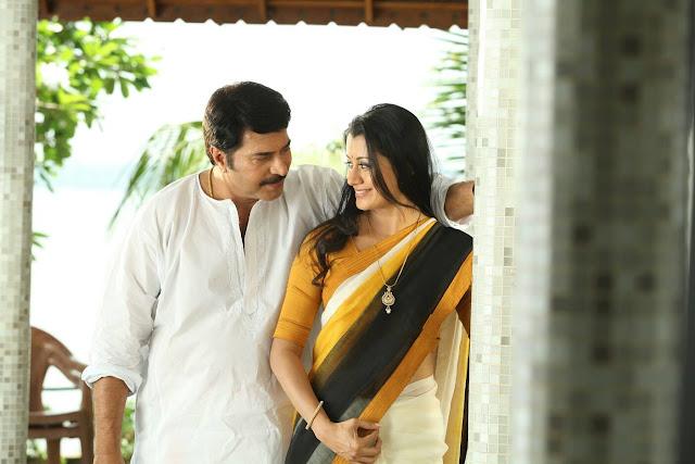 Malayalam actress Reenu mathews with Mammootty