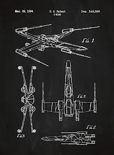 Starwars - blueprint X-Wing