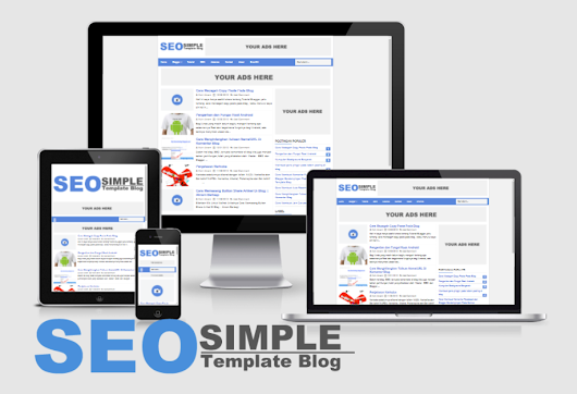 SEO Simple Responsive Blogger Template Update