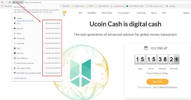 Hướng dẫn tăng tỉ lệ mua ICO Ucoin Cash thành công lên đến 8-90%