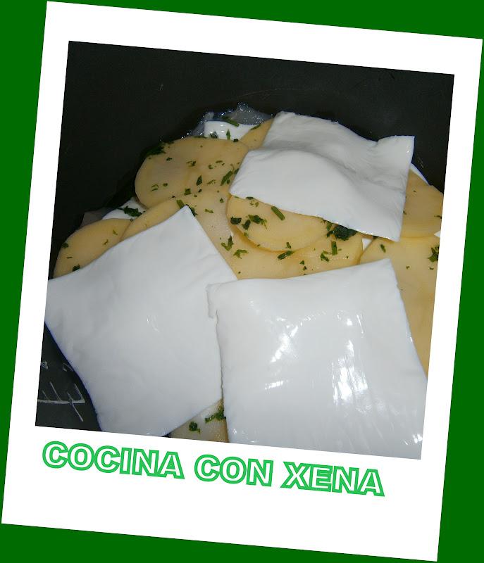 Cocina con xena pechugas de pollo con queso para los for Cocina con xena olla gm d