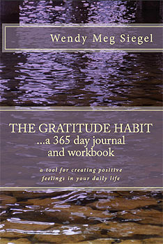 The Gratitude Habit: A 365 Day Journal and Workbook: A tool for creating positive feelings in your daily life Wendy Meg Siegel