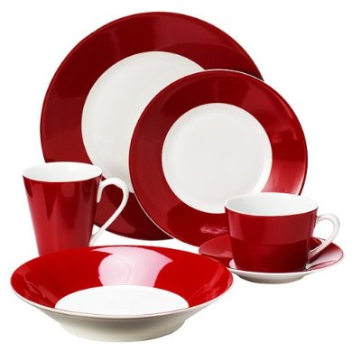 Red Dinnerware 6
