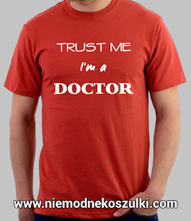 koszulka Trust me I'm a doctor - prezent na obronę doktoratu