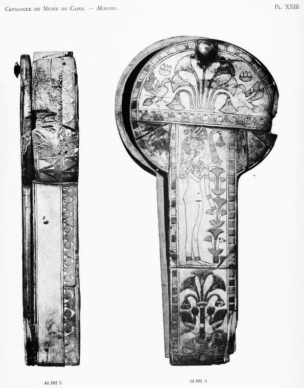 Un tui miroir en sycomore ivoire merveilleux for Pierre mabille le miroir du merveilleux